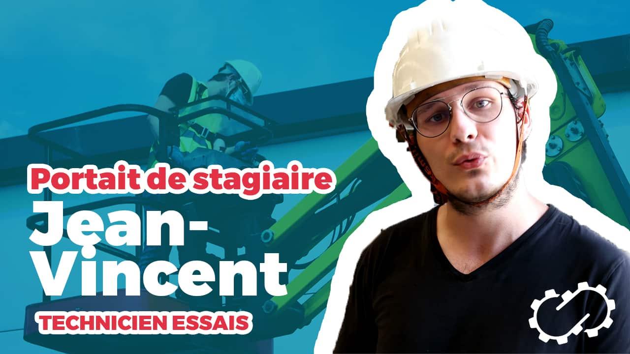 Miniature Portrait de Stagiaire Jean-Vincent Technicien Essais chez Trench Group