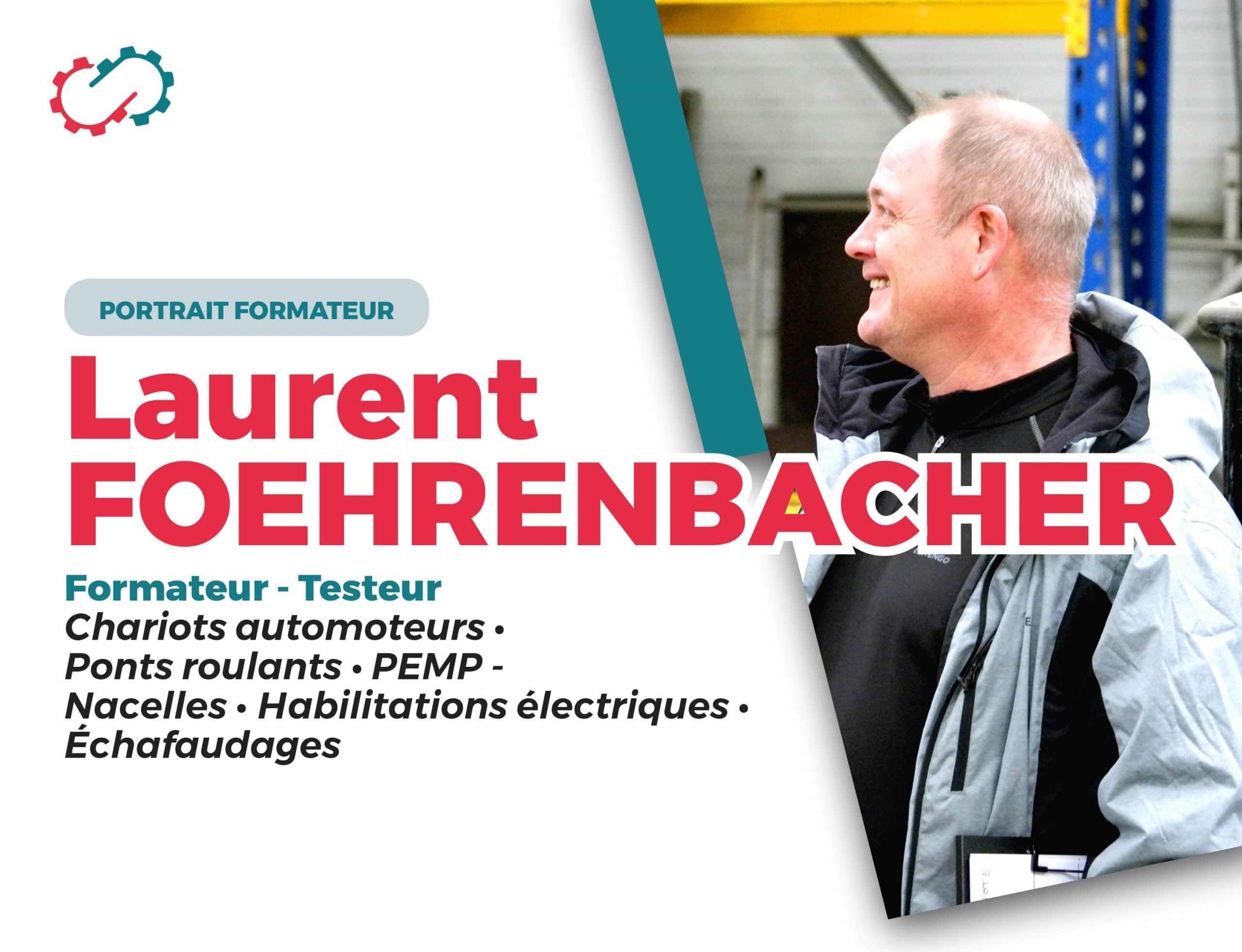 Portrait formateur testeur Laurent Foehrenbacher