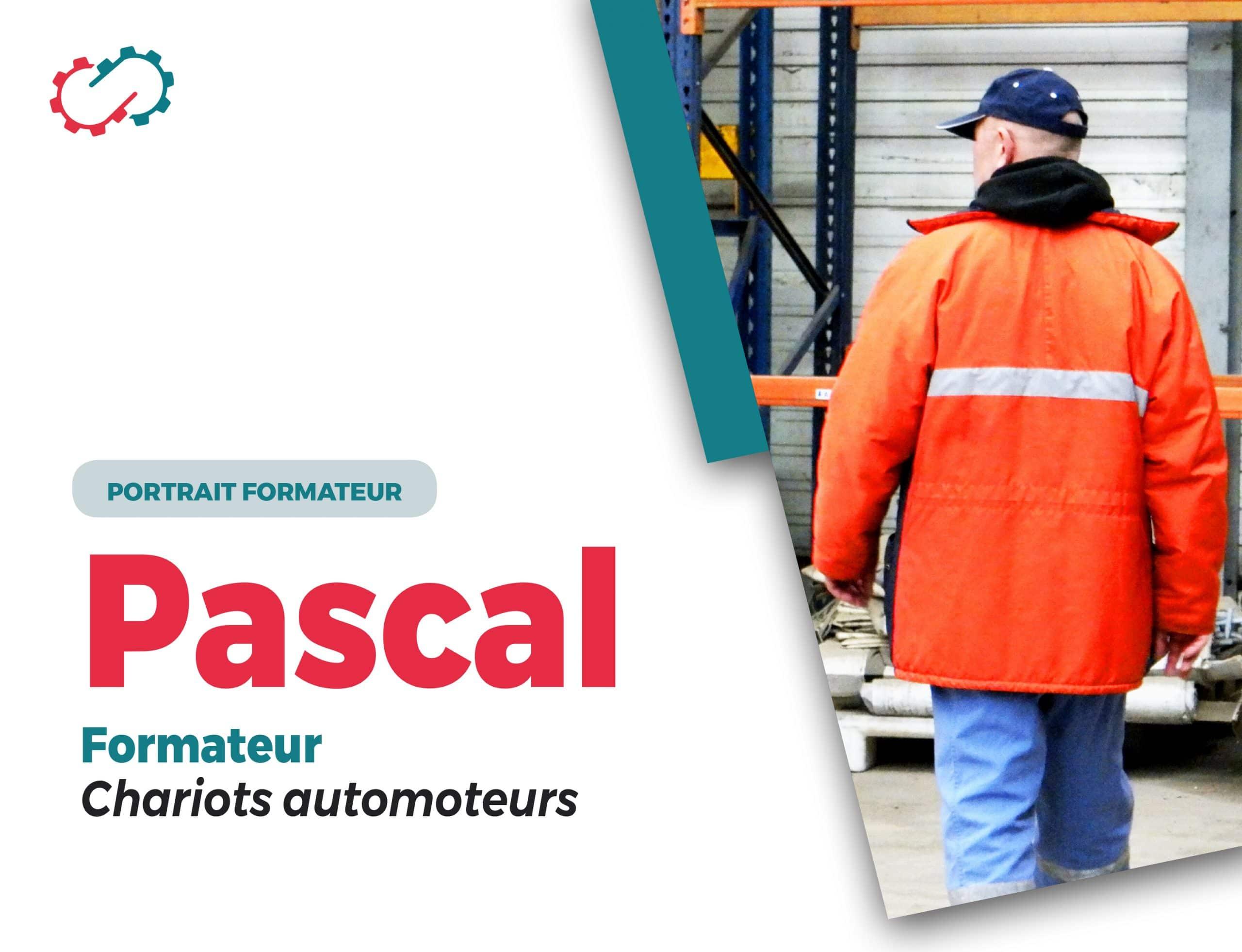 Portrait de formateur Pascal