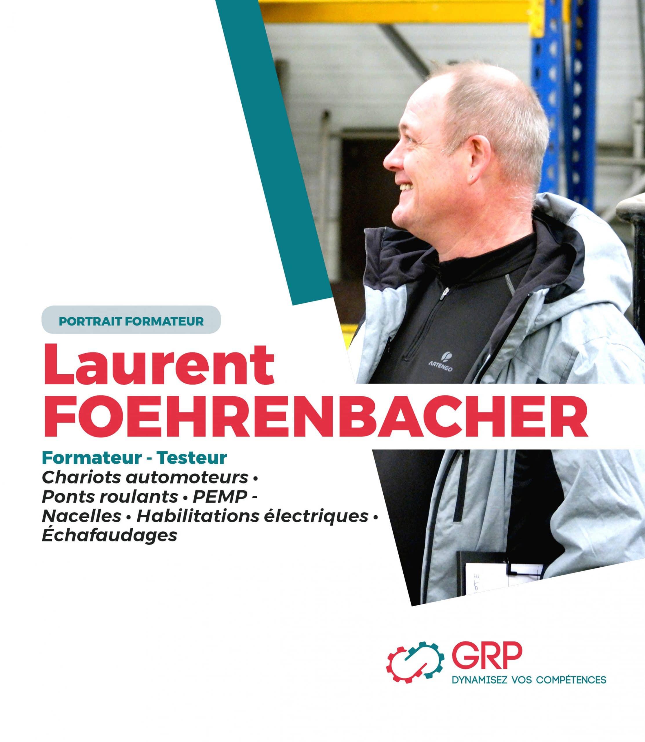 Portrait Formateur Laurent
