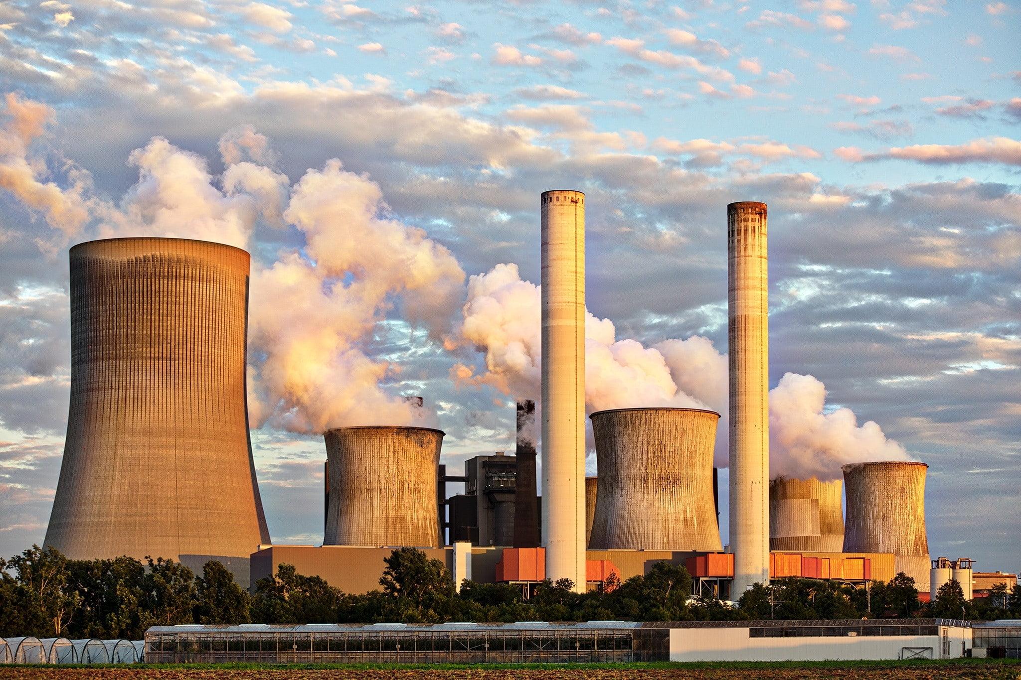 Illustration d'un site nucléair