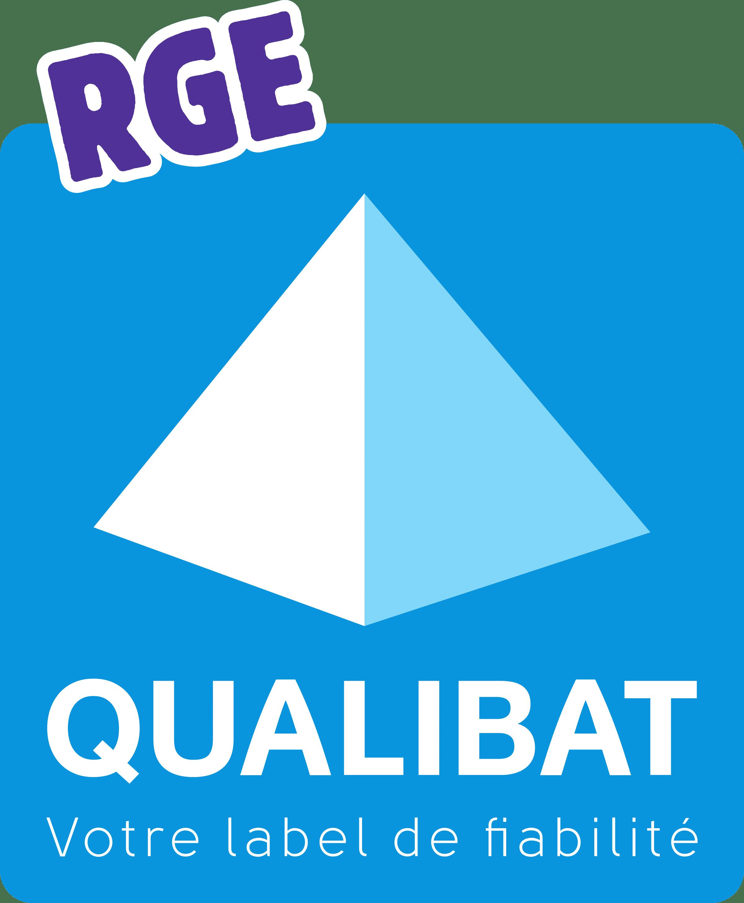 Logo RGE Qualibat qu'il est possible d'obtenir après la formation FEEBAT Renove à Mulhouse