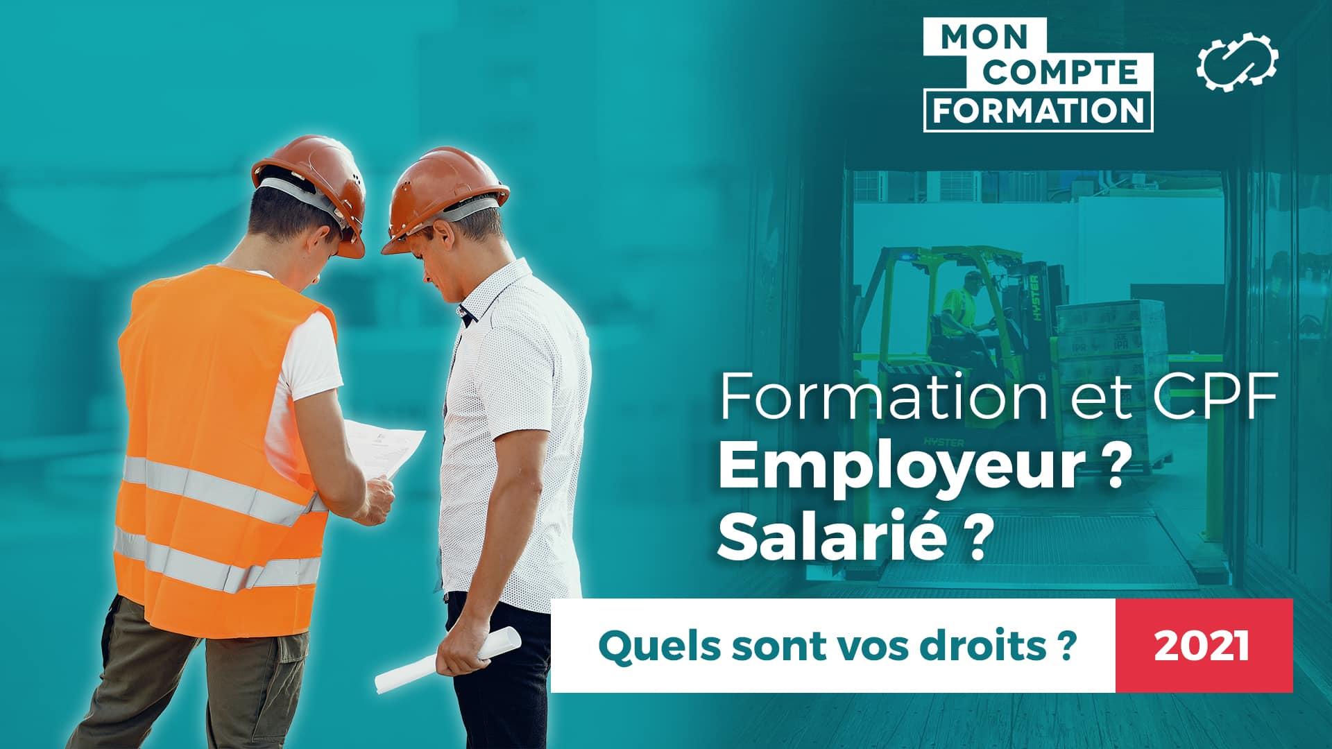 Droit CPF employé salarié