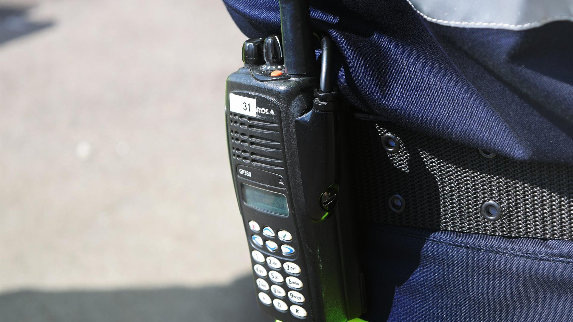 Photo d'un marqueur radioélectrique pour la détection piéton